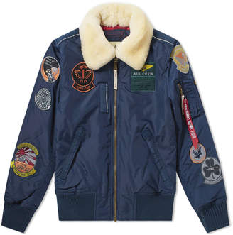 Alpha Industries Injector III Patch Jacket