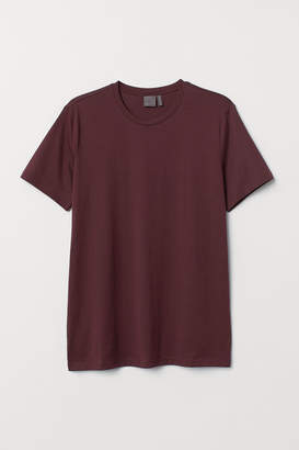 H&M Premium Cotton T-shirt - Red