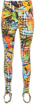 Burberry Graffiti Leggings