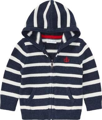 Ralph Lauren Striped Cotton Full-Zip Hoodie