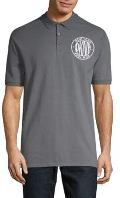 DKNY Slim-Fit Short-Sleeve Polo