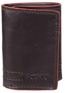 Levi's Tri-Fold Leather Wallet