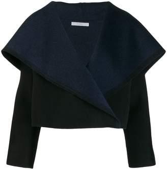Dusan oversized collar cropped jacket