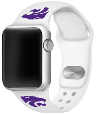Affinity Bands Kansas State Wildcats 42mm Silicone Sport Band fits Apple Watch - BAND ONLY