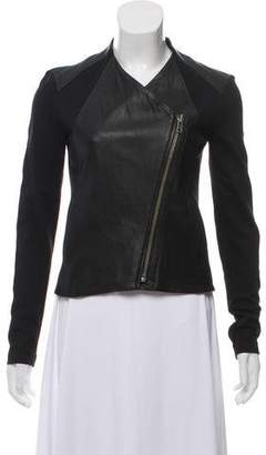 Helmut Lang Leather Casual Jacket w/ Tags