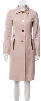 Dolce & Gabbana Embellished Brocade Coat