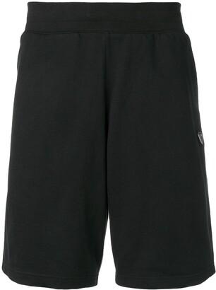 Emporio Armani Ea7 logo plaque shorts