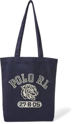 Ralph Lauren Polo Tiger Canvas Tote