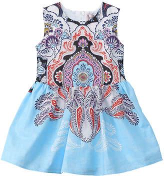 Halabaloo Girls' Paisley Dress