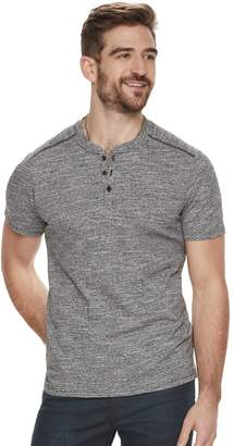 Rock & Republic Men's Mock-Layered Henley Tee
