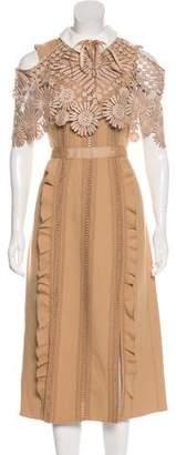 Self-Portrait Hinkley Midi Dress w/ Tags