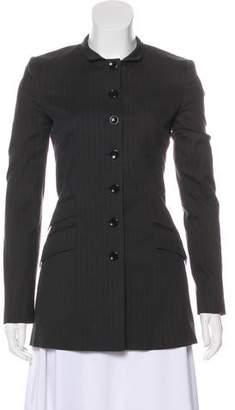 Dolce & Gabbana Pinstripe Structured Blazer