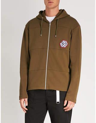McQ Oddity Cube cotton-jersey hoody