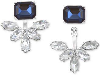 Badgley Mischka Crystal & Stone Ear Jacket Earrings