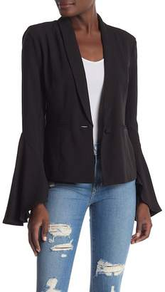 Lovers + Friends Carmelita Flare Blazer