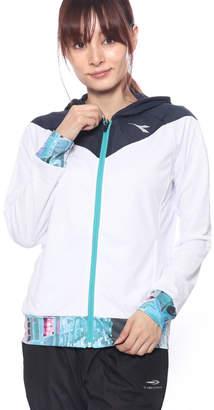 Diadora (ディアドラ) - ディアドラ Diadora レディース テニス ウインドブレーカー W ストレッチジャケット DTP8191