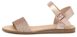 I Love Billy New Oneday Rose Gold Womens Shoes Casual Sandals Sandals Flat