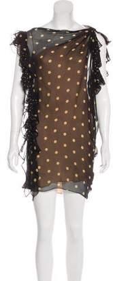 3.1 Phillip Lim Ruffle Sheath Mini Dress