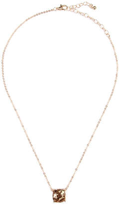 Riah Fashion Glitter Pendant Necklace