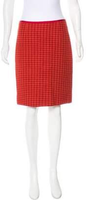 Tory Burch Wool-Blend Skirt