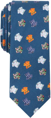 Penguin Men's Hawaiian Shirt Skinny Tie