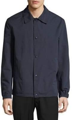 Cole Haan Spread Collar Rain Jacket