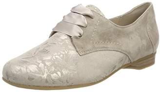 Nancy, Womens Brogue Lace-up Shoes, Beige (028 - Panna), 6 UK (39.5 EU) Semler