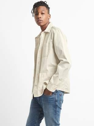 Gap Shirt Jacket in Cotton