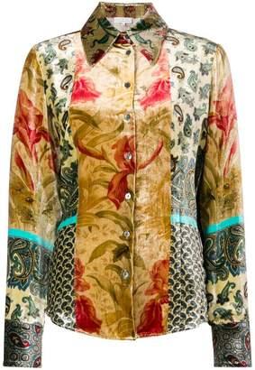 Pierre Louis Mascia Pierre-Louis Mascia embroidered long-sleeve top