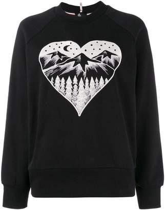 c874cd2cba Moncler Après Ski embroidered sweater
