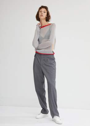 Eckhaus Latta Open Side Sweater