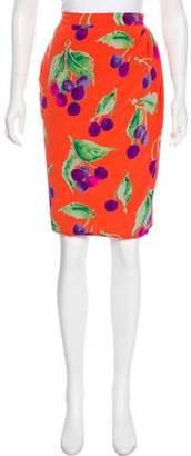 Ungaro Paris Vintage Printed Skirt