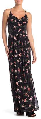 Angie Twin Print Maxi Dress