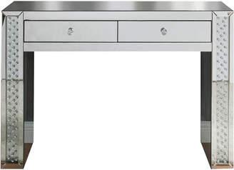 ACME Furniture Acme Nysa Glass Vanity Desk