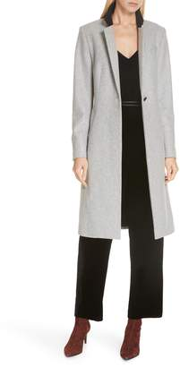 Rag & Bone Daine Virgin Wool Blend Coat