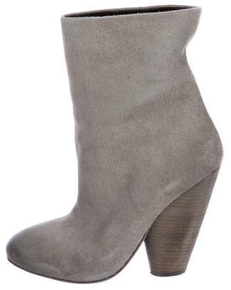 Marsèll Round-Toe Suede Booties
