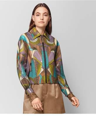 Bottega Veneta Multicolor Ayers Patchwork Jacket