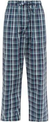 Derek Rose Tartan Lounge Trousers