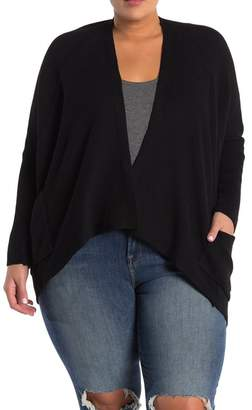 Melrose and Market Dolman Sleeve Wrap Cardigan (Plus Size)