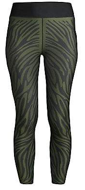 ULTRACOR Women's Zebra Print Leggings