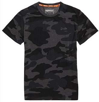 Superdry Men's Men's Orange Label Vintage Embroidered T-Shirt