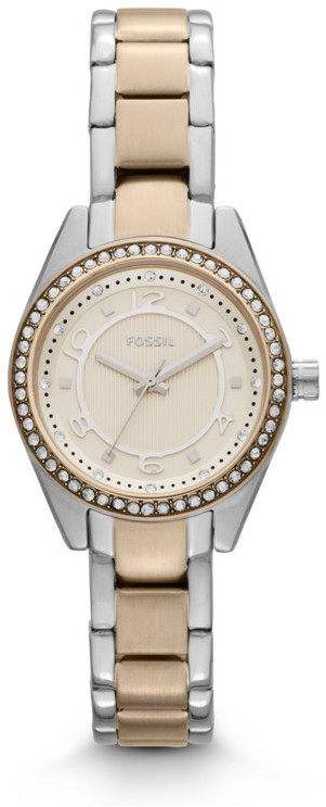 Fossil Carissa Three-Hand Stainless Steel Watch - Two-Tone
