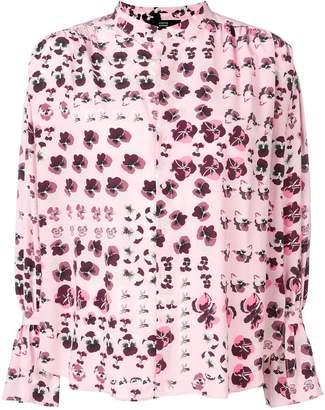 Steffen Schraut floral print shirt