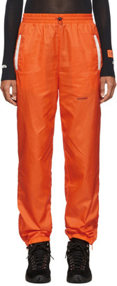 Heron Preston Orange Nylon Lounge Pants