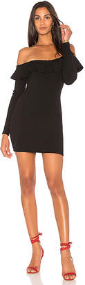 Rachel Pally Luxe Rib Ruffle Dress