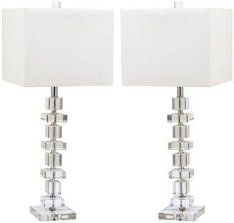 Safavieh 2-piece Deco Glass Table Lamp Set