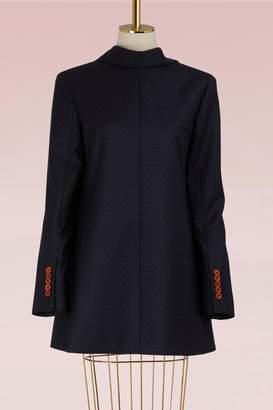 Acne Studios Wool Jade Dot Suit