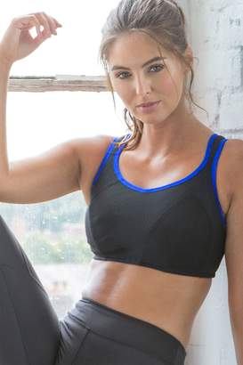 Pour Moi? Womens Pour Moi Energy Non Wired Full Cup Sports Bra - Black