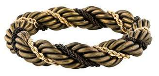 Lanvin Twisted Rope Chain Bracelet