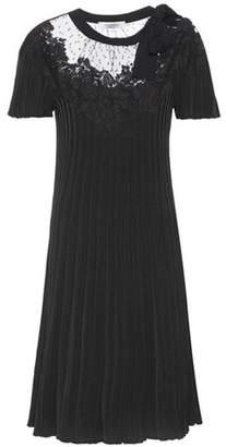 Valentino Rib-knit dress